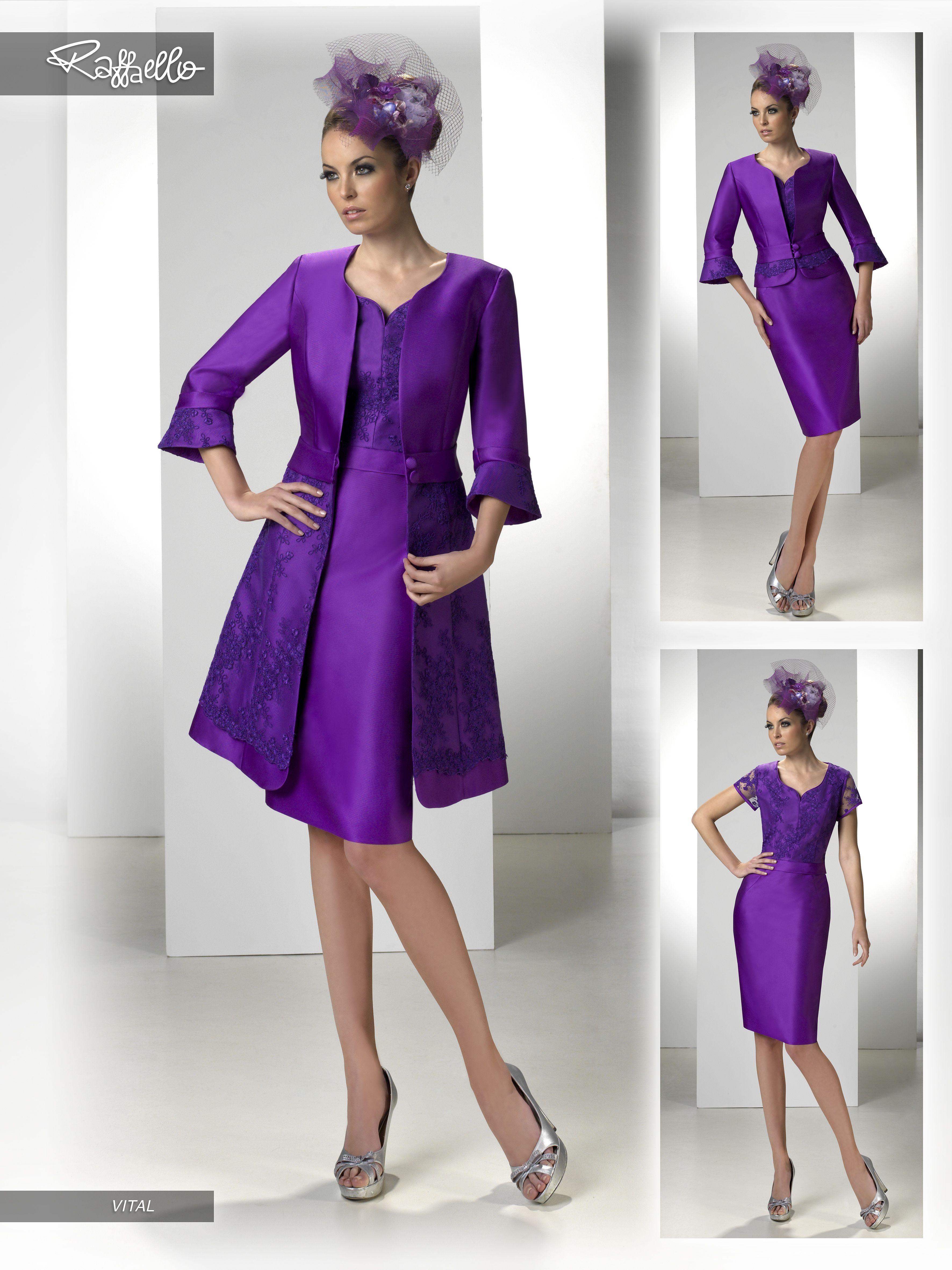 VITAL (Vestido de Fiesta). Diseñador: Raffaello. ... | modafemenina ...