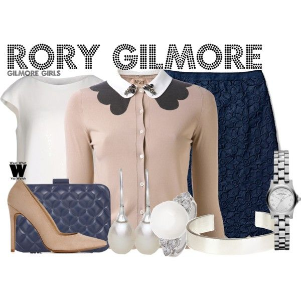 Inspired by Alexis Bledel as  Rory Gilmore on Gilmore Girls.