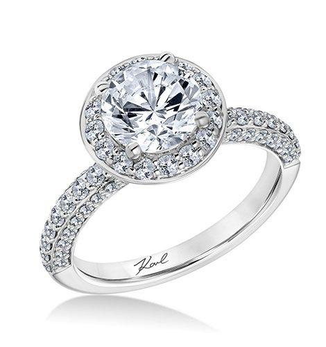 Bling Ring Karl Lagerfeld Bringt Eine Verlobungsring Kollektion