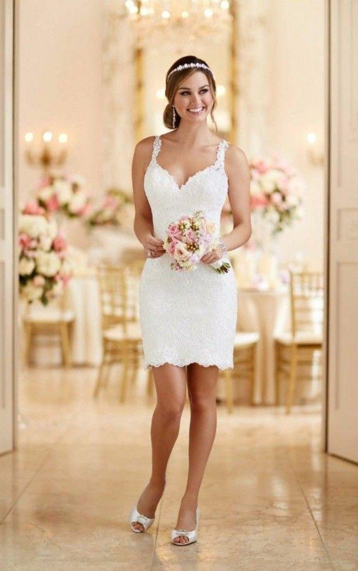 Vestidos de novia cortos com