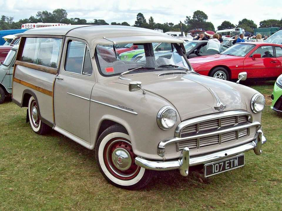 Old British estate cars. Morris Oxford S.II Traveller.   Wagons 4All ...