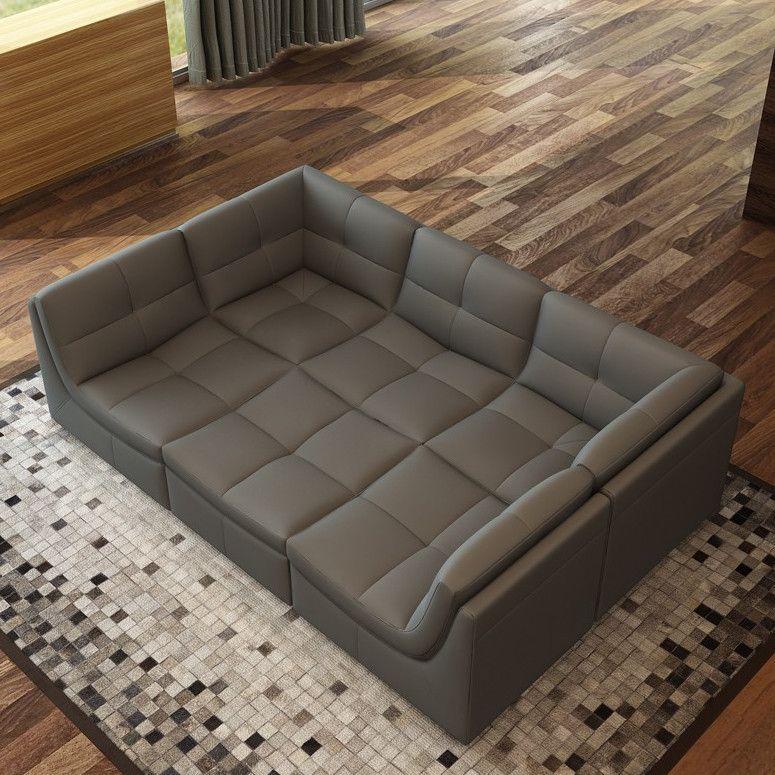 Hokku Designs Monaco Modular Sectional Modular Sectional Sectional Sofa Couch Sectional