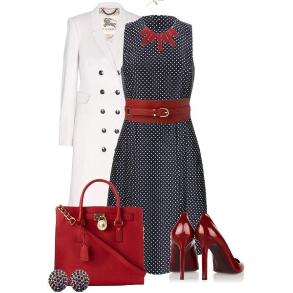 Red Accents, created by justbeccuz on Polyvore