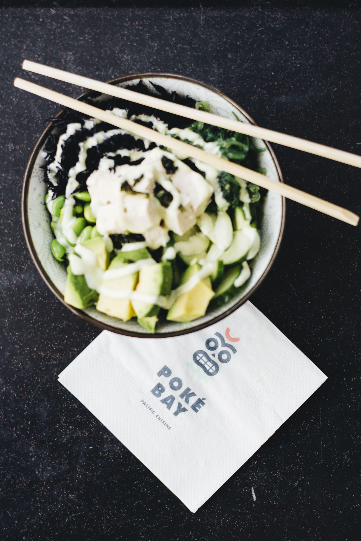 Veggie Lover Tofu Edamame Gurke Hijiki Seealge Wakame Salat