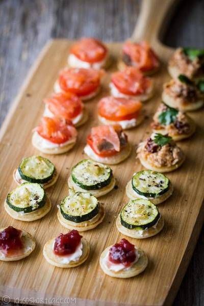 8 id es pour un ap ritif facile et original astuces de for Canape toppings ideas