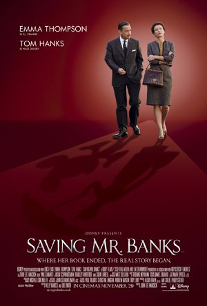 Saving Mr Banks Movie Poster