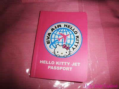 Hello Kitty passport