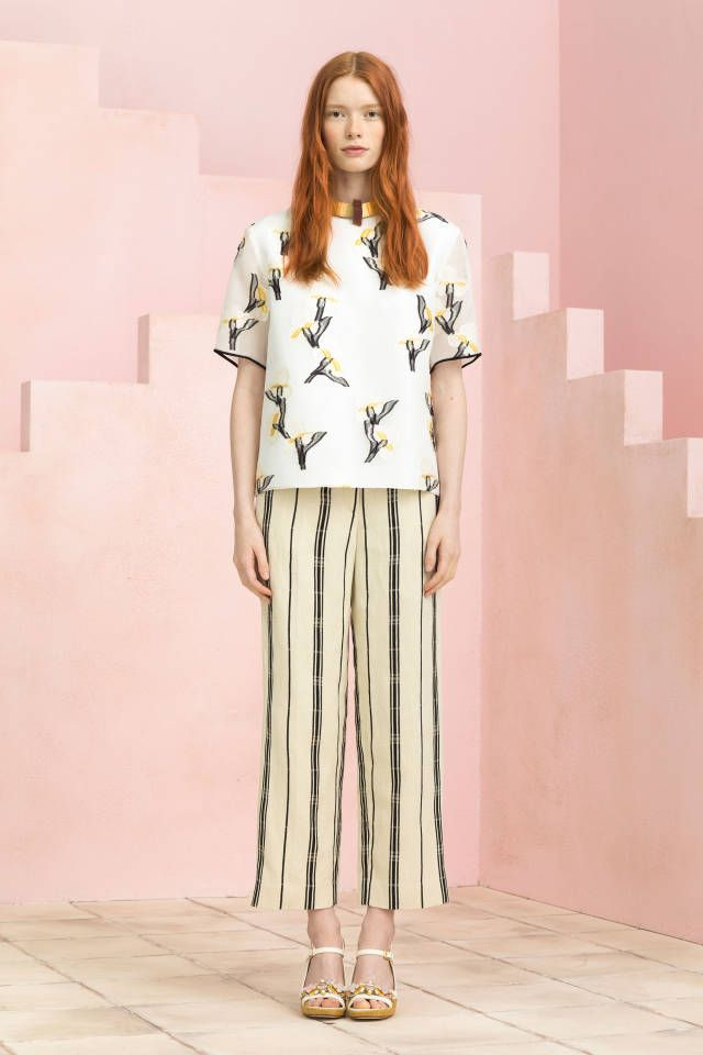 Tory Burch Resort 2015. See all the best looks here.