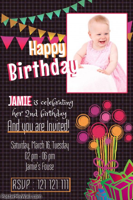Create Amazing Birthday Posters By Customizing Our Easy To Use