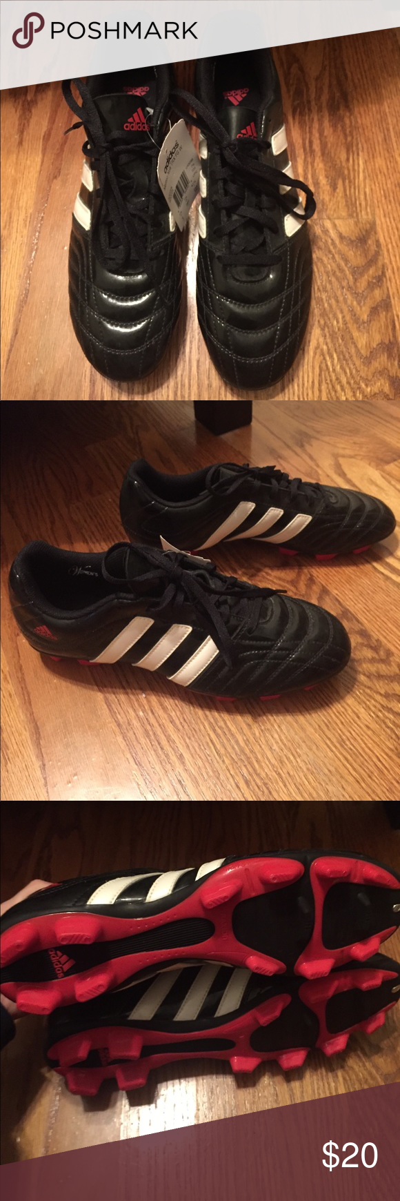 Brand new adidas soccer cleats Never worn with tag. Adidas brand cleats size 9 adidas Shoes