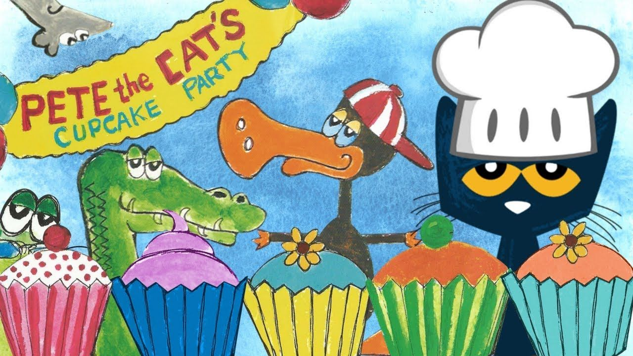Pete The Cat And The Missing Cupcakes Cartoon Youtube With