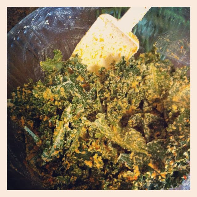 Better Than Doing Laundry: Cheesy Kale Chips...In My Car