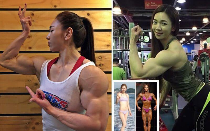 Female Korean IFBB Pro Bodybuilder is taking the Internet