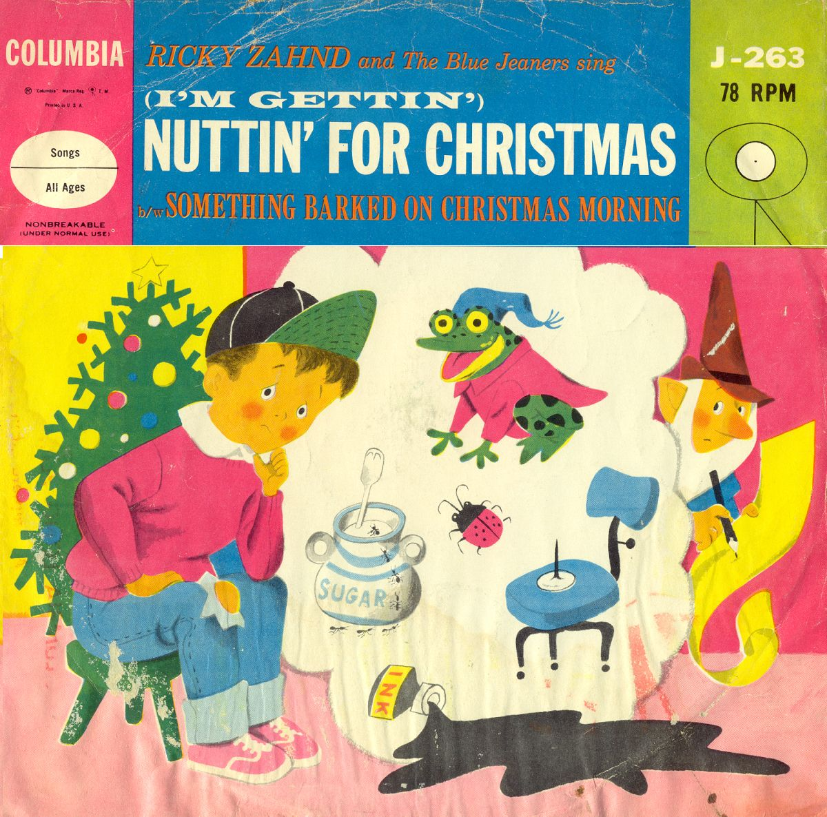 I\'m Gettin\' Nuttin\' for Christmas | Classic Christmas LP Covers ...