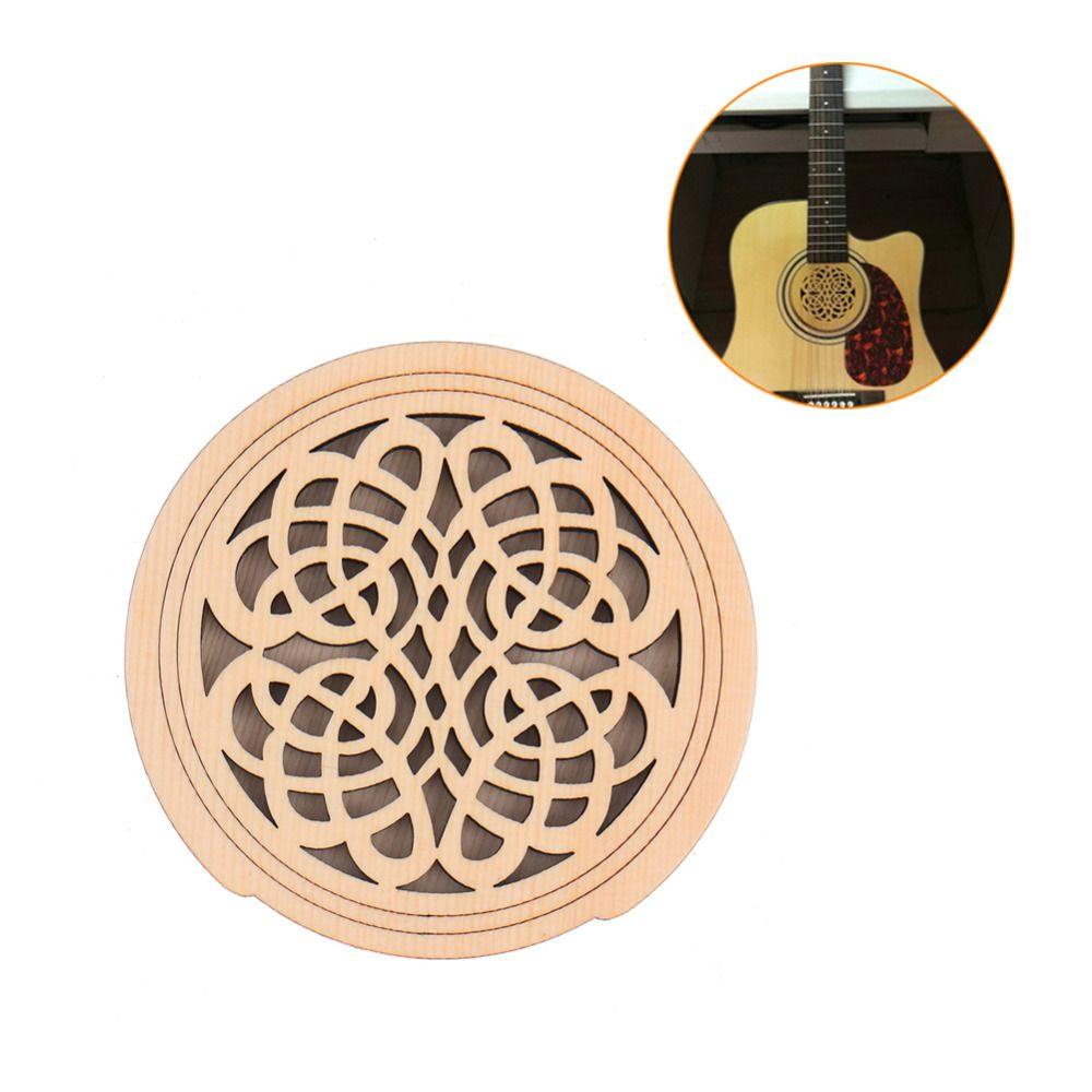Reduce Noise 41 Inch Guitar Sound Hole Cover Anti Echo Electric Box Folk Guitar Guitar Musical Accessories Suppo Electric Box Guitar Parts Musical Instruments