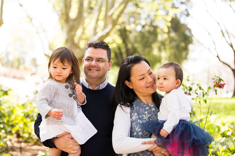 Melbourne Family Photography The Patten Family At The Queen Victoria Gardens  In Melbourne. Included A