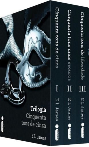 Box Da Trilogia Cinquenta Tons De Cinza Com Imagens Trilogia