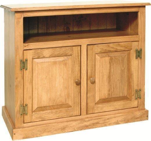 Attirant Amish Pine Wood Small TV Stand