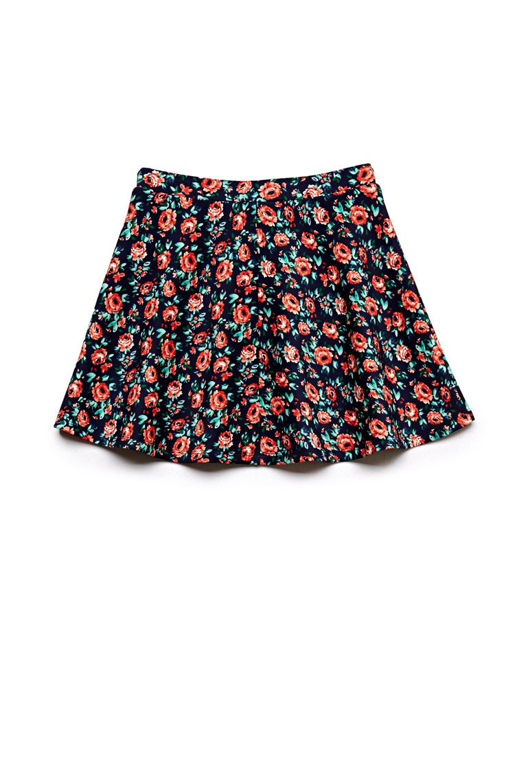 1e22feea4e20 Floral Scuba Knit Skirt (Kids)