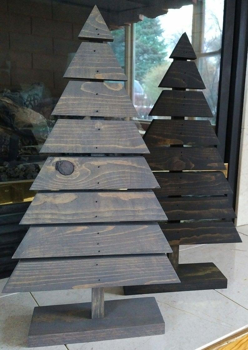 Large Wood Tree Christmas Tree Rustic Tree Primitive Tree Etsy Wood Tree Wood Christmas Tree Rustic Christmas Tree