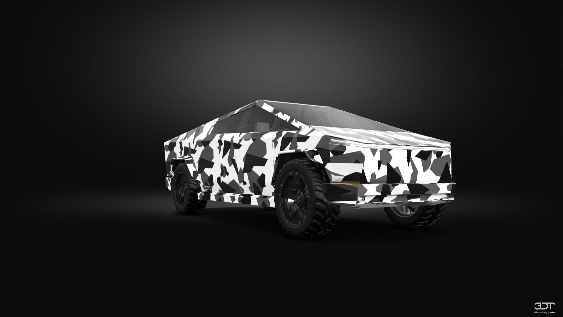 Checkout my tuning Tesla Cybertruck 2021 at 3DTuning