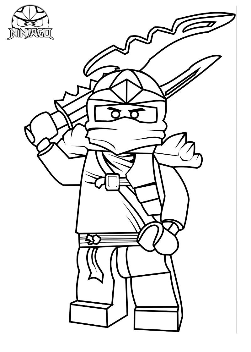 lego ninjago coloring pages jay