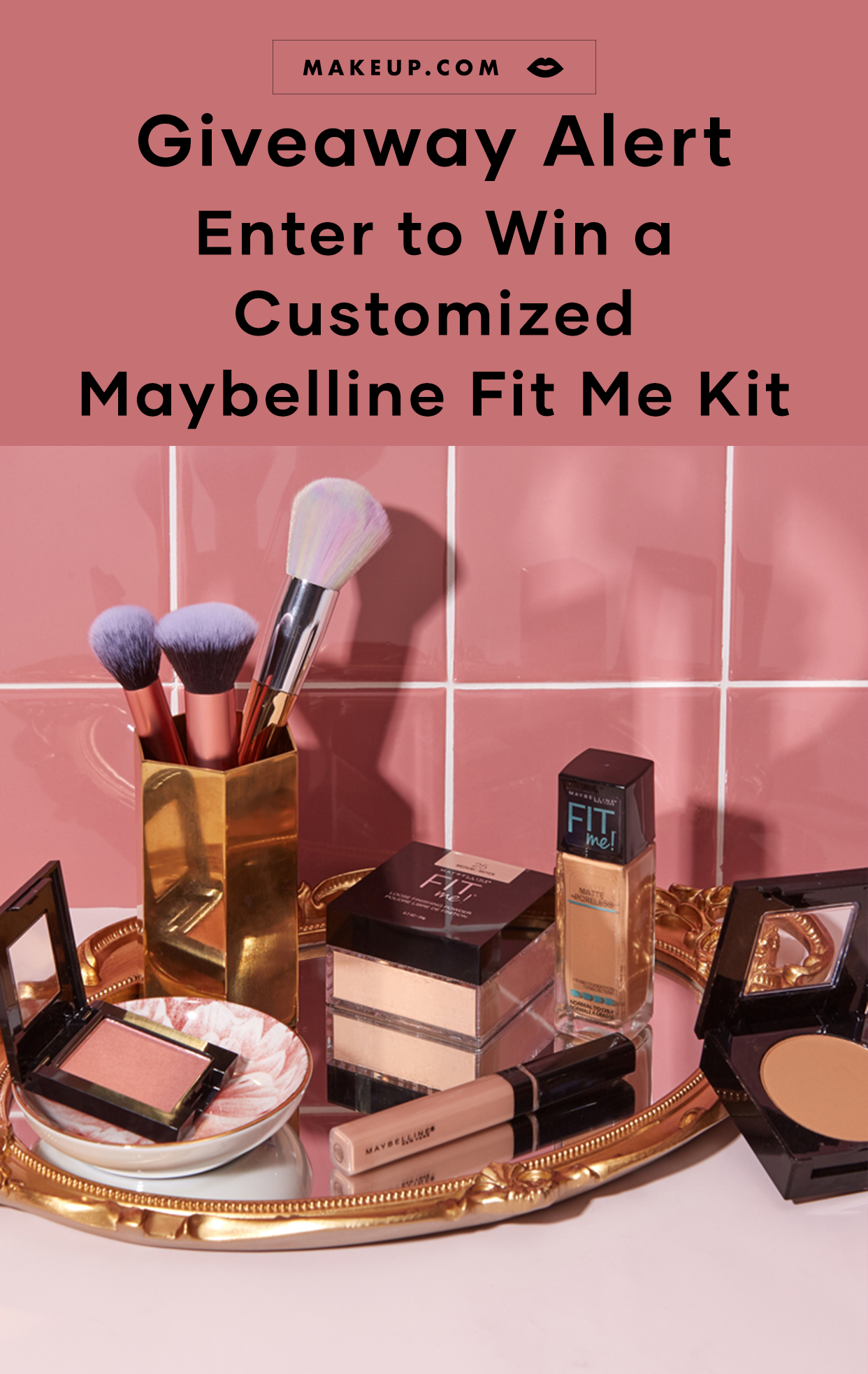 Maybelline New York Fit Me Kit Giveaway 2019 Makeup Com By L Oreal Maybelline Beauty Products Drugstore Free Skin Care Products