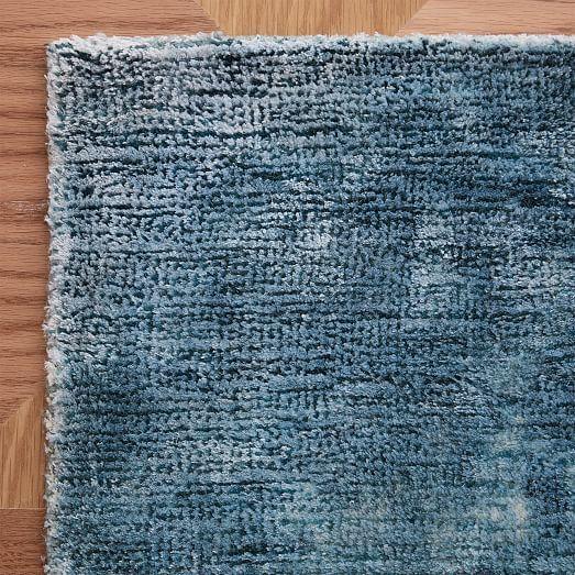 Echo Print Rug Dusty Blue 6 X9 At West Elm Rugs Home Decor Floor Decor Rugs West Elm Rug Floor Decor