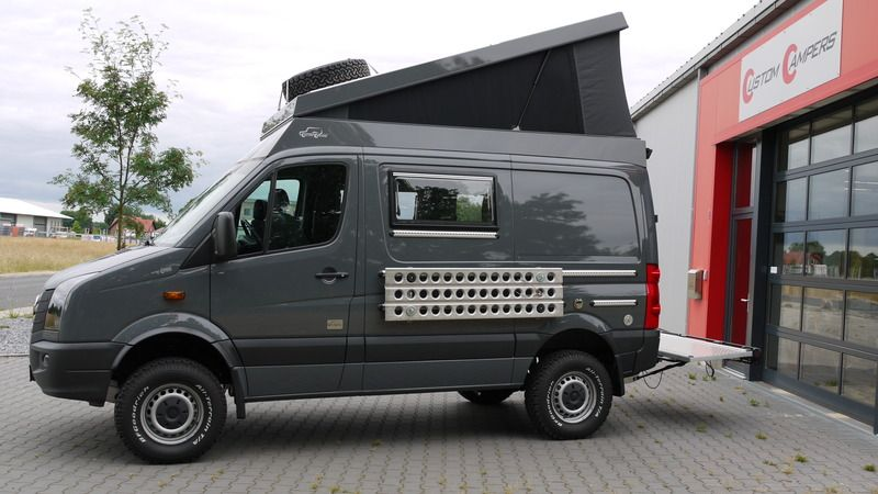 volkswagen crafter 4x4 campers en trailers crafter. Black Bedroom Furniture Sets. Home Design Ideas