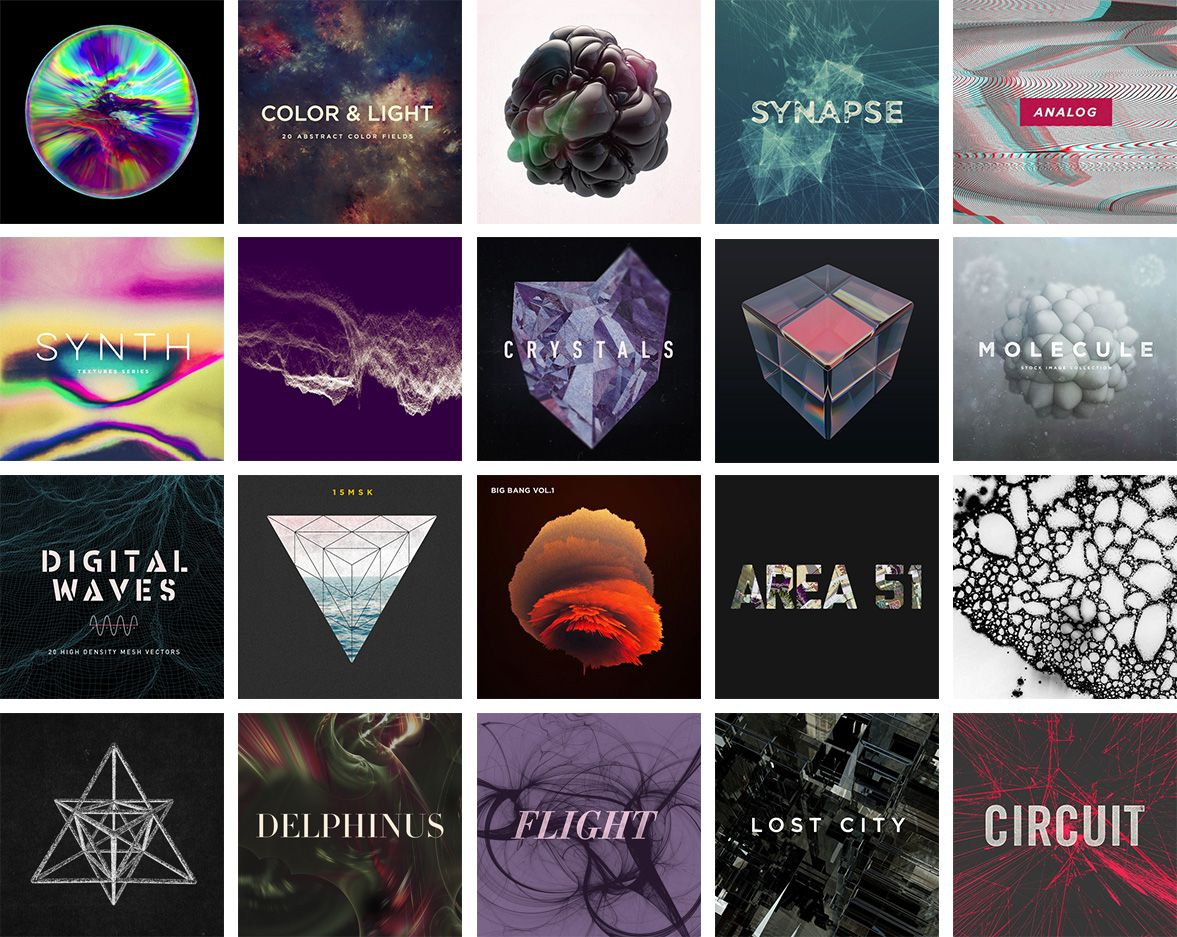 The Creative Abstract Bundle