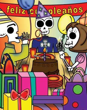 About the art feliz cumpleanos my day of the dead birthday party about the art feliz cumpleanos my day of the dead birthday party m4hsunfo