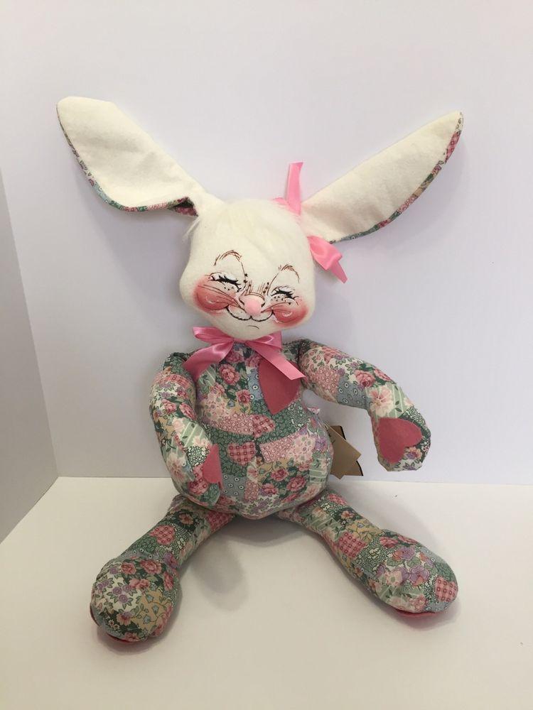 Annalee Dolls - 1999 18-inch Patchwork Bunny