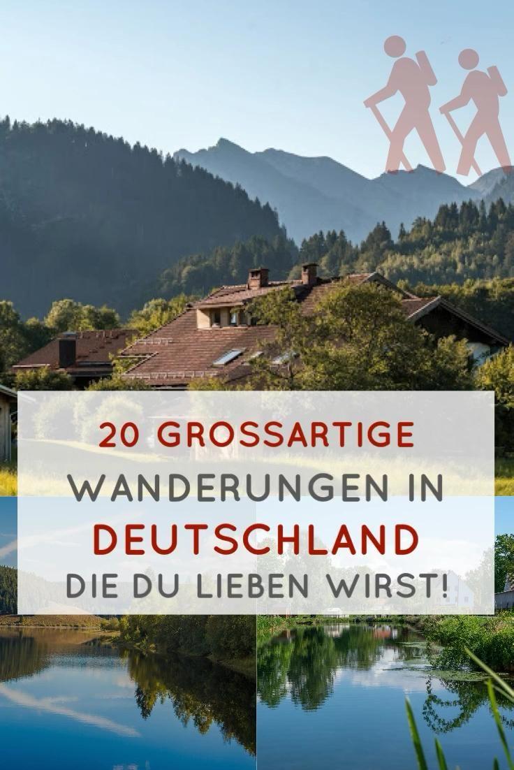 Wandern in Deutschland – 20 Lieblingstouren in der