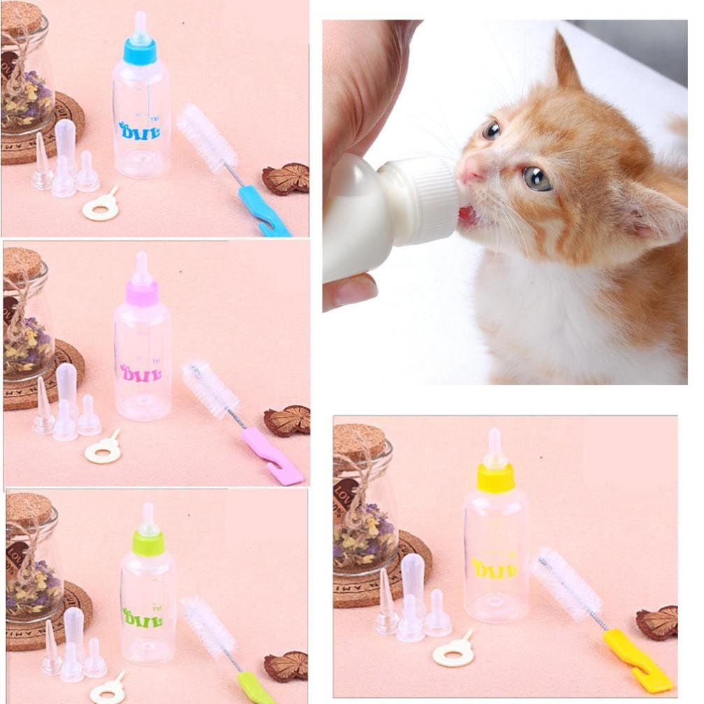 Ooeoo Dog Water Bottle Pet Puppy Cat Drinking Milk Nursing Care Feeding Bottle Set To See Even More For This Product In 2020 Newborn And Dog Small Puppies Pet Rabbit