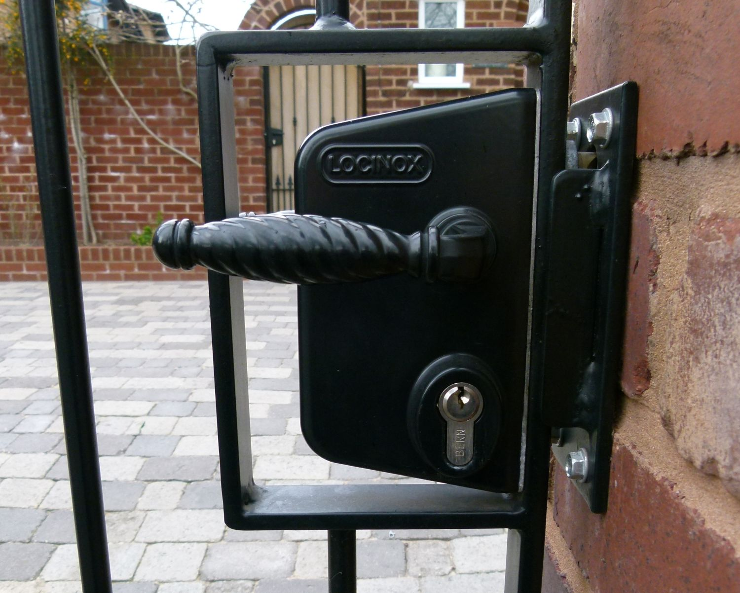iron gates locks for wrought iron gates uk fences pinterest