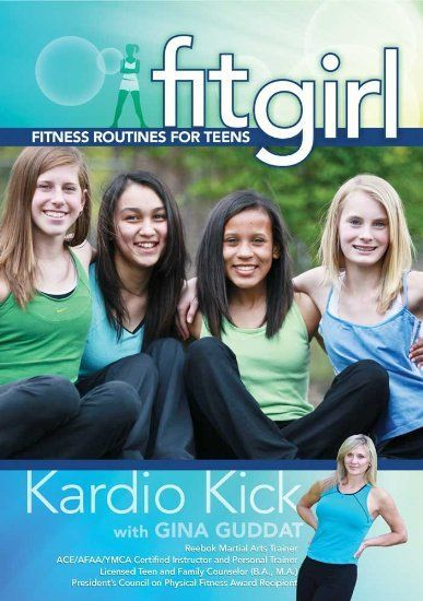 Fitgirl: Kardio Kick Workout - Kids and Teens Fitness #Fitgirl #Fitness #Kardio #Kick #kids #Teens #Workout