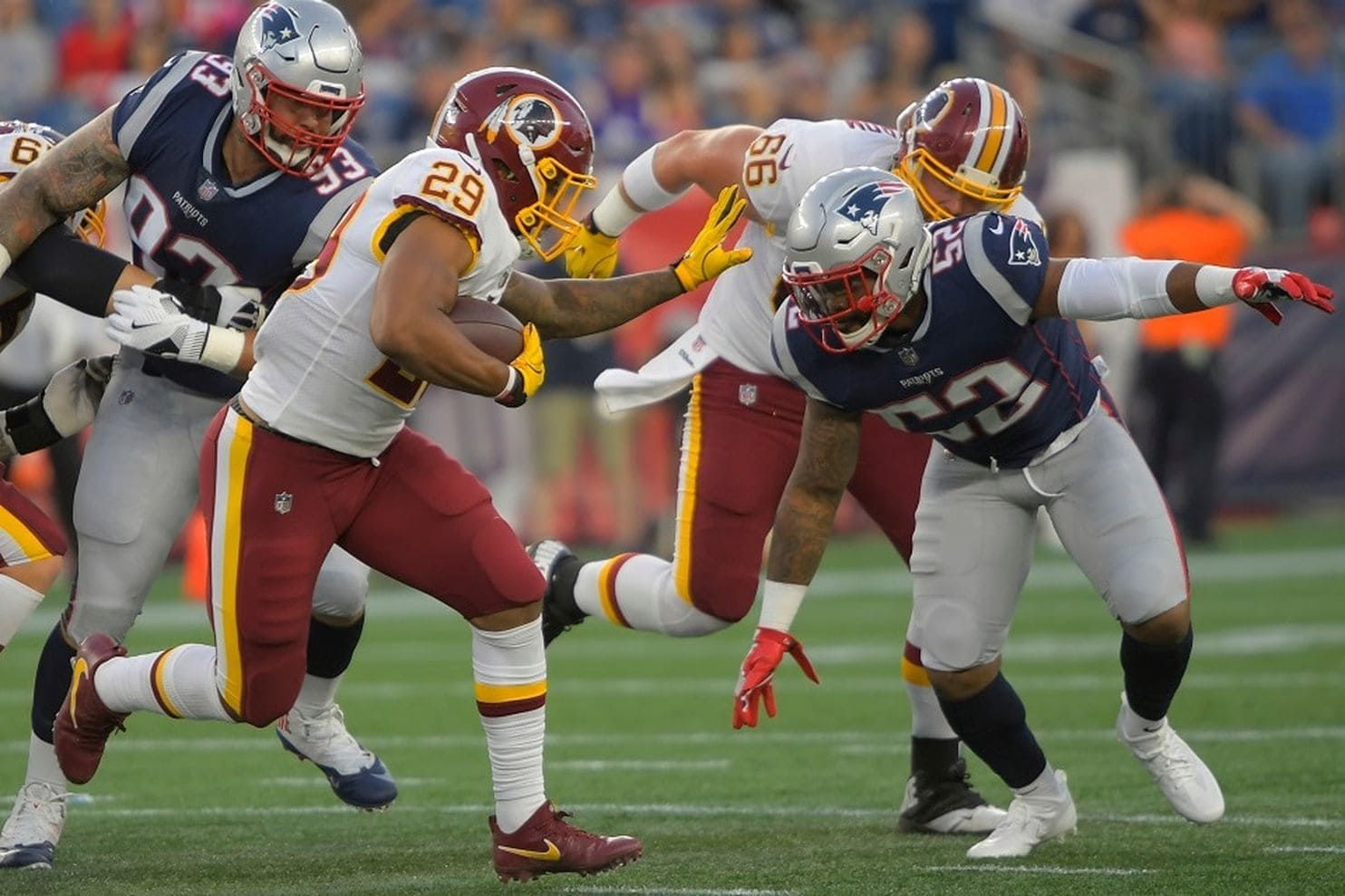 Redskins are getting frustrated after a rash of season