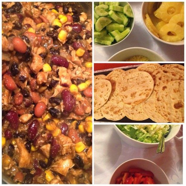mexicaans buffet inclusief recept chili con carne food recipes chili chili con carne en food. Black Bedroom Furniture Sets. Home Design Ideas