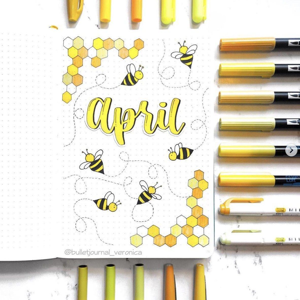 Best April Bullet Journal Ideas that You'll Love - The Smart Wander