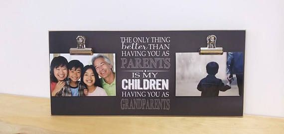 Grandchildren Photo Frame, Christmas Gift, Grandparent Photo Frame Custom Frame, Grandparents Day Gift, Personalized Gift