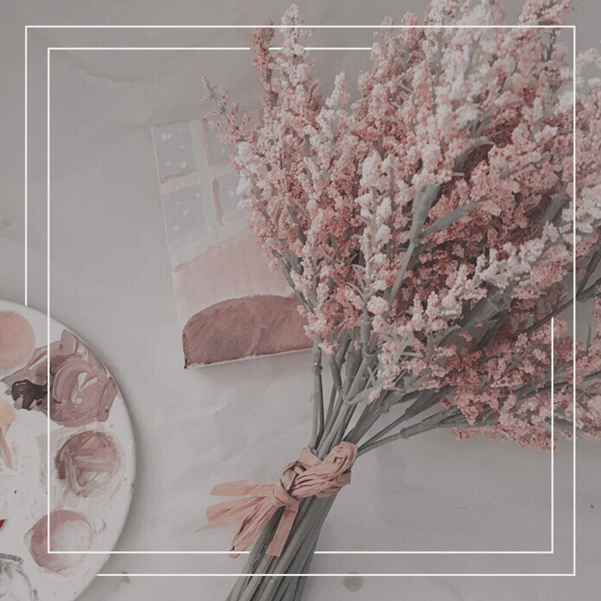 Pink And White Aesthetic Pictures