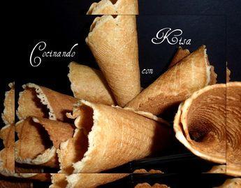 Cocinando con Kisa: Barquillos tradicionales Cucuruchos y Cestitas