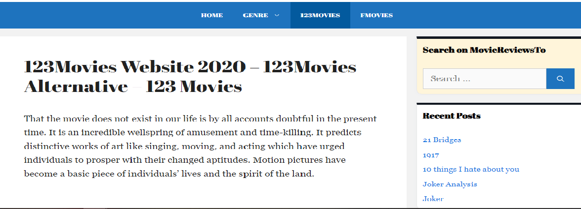 123movies Website 2020 123movies Alternative 123 Movies 123 Movies Is A Free Movie Streaming We In 2021 Streaming Movies Free Streaming Movies Free Movies Online