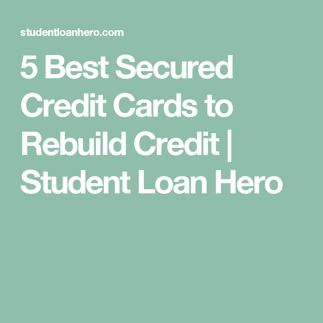 5 Best Secured Credit Cards To Build Credit