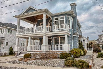 stone harbor nj beach style exterior other metro by annie m rh pinterest com Stone Harbor NJ Map Stone Harbor Hotels