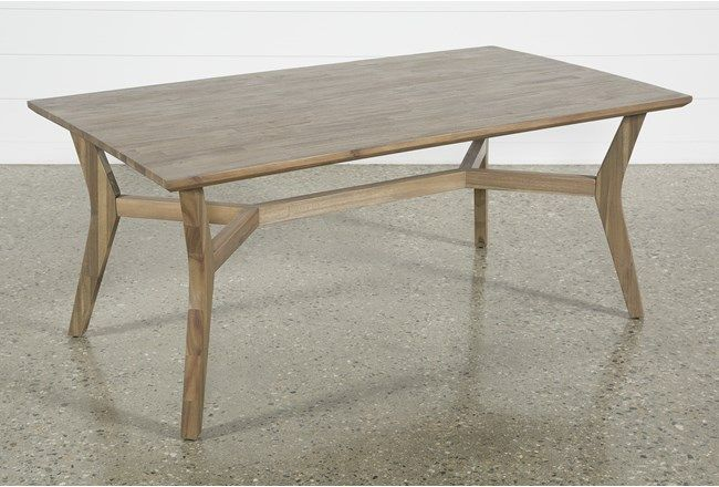 Caleb Dining Table In 2020 Dining Table Modern Kitchen Tables
