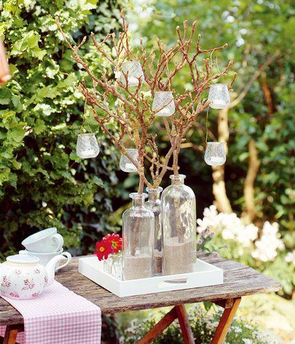 Beleuchtung gartenparty tischdeko pinterest garten garten deko und garten ideen - Gartenparty beleuchtung ...