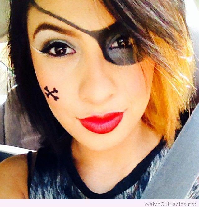 Pirate Halloween makeup for girls   watchoutladies.net ... - photo#27