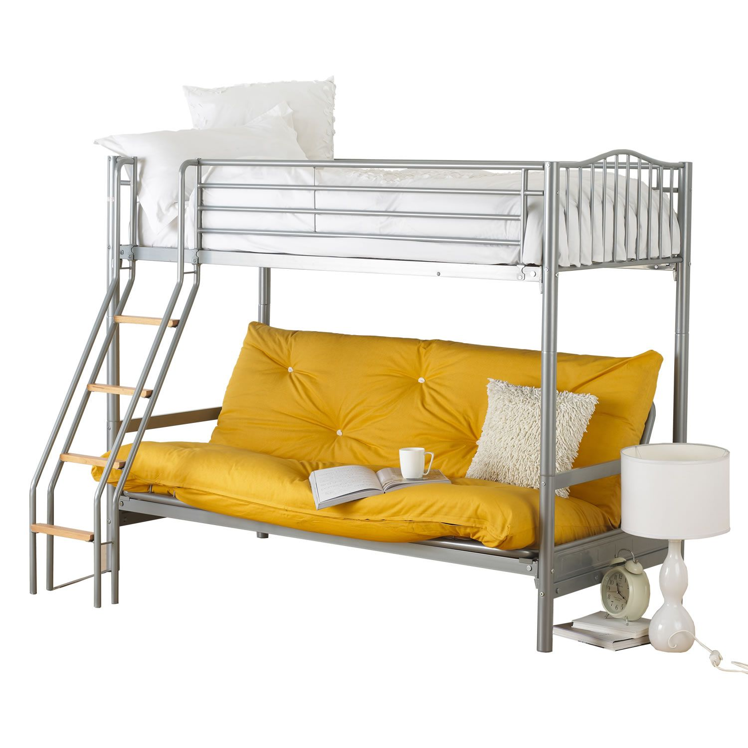 Alaska Futon Bunk Bed The Creates That Cool Sit Effect Raised Reached Via New Grab Handle Swimming Pool Ladder W