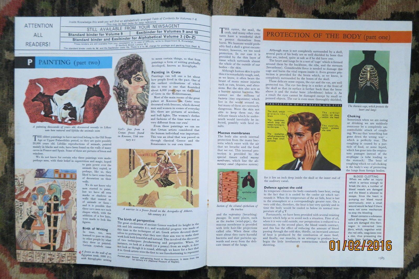 Knowledge Magazine NO100 Painting Ancient Greeks Robert E Grant TEA 1964   eBay